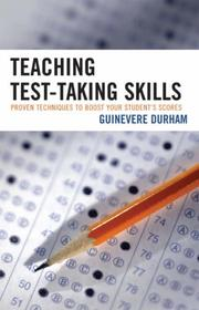 Cover of: Teaching Test-Taking Skills | Guinevere Durham