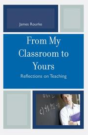 Cover of: From My Classroom to Yours | James Rourke