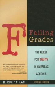 Cover of: Failing Grades | Kaplan H.