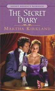 Cover of: The secret diary