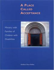 Cover of: A Place Called Acceptance