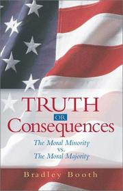 Cover of: Truth or Consequences | Booth Bradley