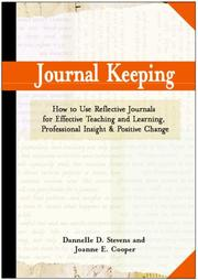Cover of: Journal Keeping | Dannelle D. Stevens