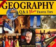 Cover of: 2004 Geography Q & A plus Travel Tips Calendar