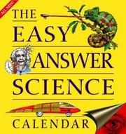 Cover of: 2004 The Easy Answer Science Calendar