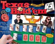 Cover of: Texas Hold'em Lift-a-Flap