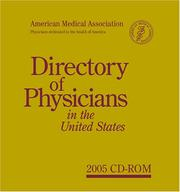 Cover of: Directory of Physicians in the United States, 2005 | American Medical Association.