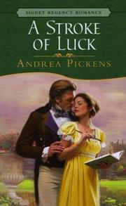 Cover of: A stroke of luck | Andrea Pickens