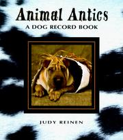 Cover of: Dog Record Book (Animal Antics)