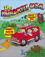 Cover of: The Roadkill USA Coloring and Activity Book