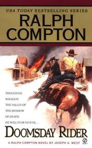 Cover of: Doomsday rider: a Ralph Compton novel