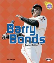 Cover of: Barry Bonds (Amazing Athletes)