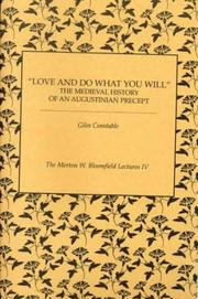 Cover of: Love and Do What You Will | Giles Constable