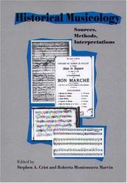 Cover of: Historical Musicology |