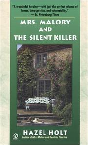 Cover of: Mrs. Malory and the silent killer | Hazel Holt