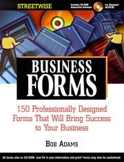Cover of: Streetwise Business Forms
