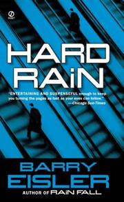Cover of: Hard Rain (John Rain Thrillers)