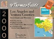 Cover of: Thomas Guide Los Angeles and Ventura (Thomas Guide Combo Packs) | Thomas Brothers Maps
