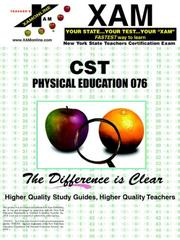 Cover of: CST - Physical Education | XAM Online