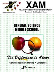 Cover of: General Science | XAM
