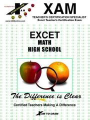 Cover of: Excet | Xam