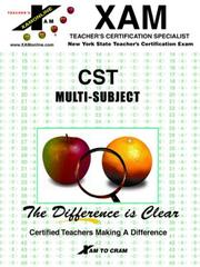 Cover of: CST Multi-Subject | Sharon A. Wynne
