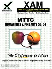 Cover of: MTTC Humanities & Fine Arts 53, 54 | Sharon, Wynne