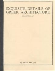 Cover of: Details of Greek Architecture