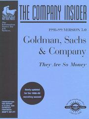 Cover of: The Goldman Sachs Group | Wetfeet.Com