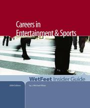 Cover of: Careers in Entertainment and Sports | J. Michael Ribas