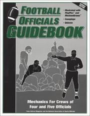 Cover of: Football Officials Guidebook
