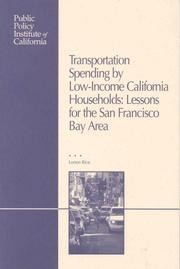 Transportation Spending By Low-income Households