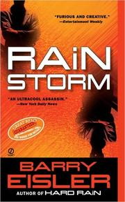 Cover of: Rain Storm (John Rain Thrillers)