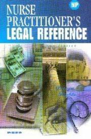 Cover of: Nurse Practitioner's Legal Reference