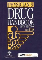 Cover of: Physician's Drug Handbook for PDA