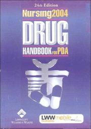 Cover of: Nursing 2004 Drug Handbook for Pda