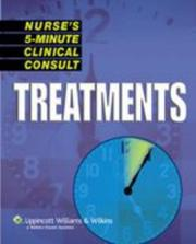 Cover of: Nurse's 5-Minute Clinical Consult