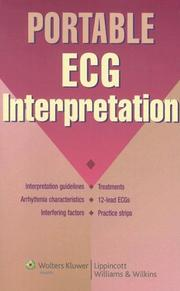 Cover of: Portable ECG Interpretation