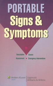 Cover of: Portable Signs & Symptoms