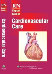 Cover of: RN Expert Guides