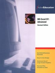 Cover of: Excel 97 Advanced (Revised)