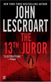 Cover of: The 13th Juror (Dismas Hardy)