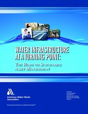 Cover of: Water infrastructure at a turning point