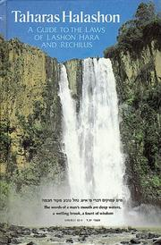 Cover of: Taharas ha-Lashon