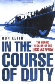 Cover of: In the course of duty