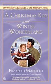 Cover of: A Christmas Kiss and Winter Wonderland | Elizabeth Mansfield