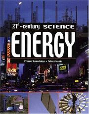 Cover of: Energy (21st Century Science (Mankato, Minn.).) | Chris Oxlade