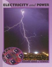 Cover of: Electricity And Power (Making Sense of Science) | Peter D. Riley