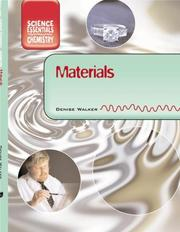 Cover of: Materials (Core Chemistry) | Denise Walker