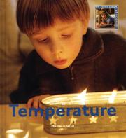 Cover of: Temperature (My First Look at: Science)